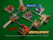 Galoob Micro Machines Hiways and Byways TVC 1997