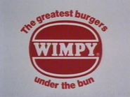 Wimpy AS TVC 1982