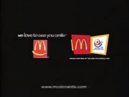 2000 FFAI World Cup - McDonald's URA TVC
