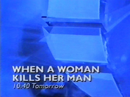 Centric promo - When A Woman Kills Her Man - 1995