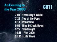 GRT1 line up promo - 2000 - 1973
