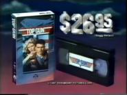 Top Gun VHS TVC 1987 - 2