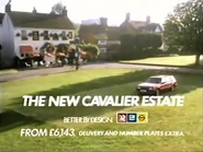 Vauxhall Cavalier Estate AS TVC 1983