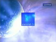Slennish TV ID glitter ball 2000