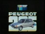 Peugeot Talbot AS TVC - Peugeot 205 - 1984