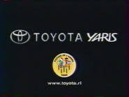 Toyota Yaris TVC RL 2000