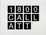 AT and T TVC - 1 800 CALL ATT - 1994