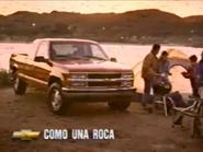Chevrolet URA Spanish TVC 1998 slogan