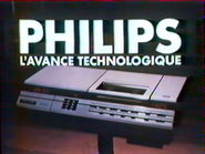 Philips VCR RLN TVC 1983