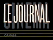 Canal Plus bumper - Le Journal - 1992