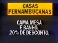 Casas Fernambucanas PS TVC 1985