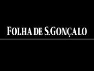 Folha de S Goncalo TVC 1987