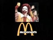 McDonald's AS TVC - Ronald McDonald - 1980