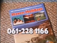 Haven Holidays AS TVC 1983