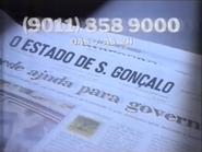 O Estado de Sao Goncalo TVC 18-4-1992