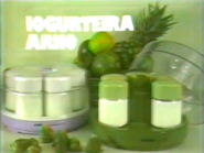 Iogurteira Arno PS TVC 1984