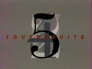 Télécinq - Tout de Suite bumper - 1991