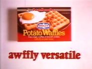 Birds Eye Potato Waffles AS TVC 1983