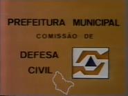 Comissão de Defesa Civil da Palesia 1984 TVC