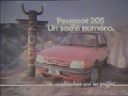 Peugeot 205 RLN TVC 1983