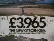 Citroen GSA AS TVC 1980