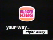 Burger King URA Breakfast Buddy TVC 1991 - Part 3