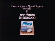 Paradiso Cheyenne AS TVC 1983