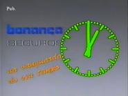 TN1 clock - Bonança Seguros (1990)