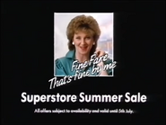 Fine Fare Superstore Summer Sale AS TVC 1986