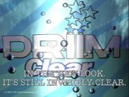 Driim Clear 1991 ad