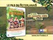 Le Fils du Roterlanais VHS DVD TVC 2000