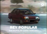 Comercial rey popular 1985