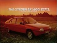 Citroen BX1600 AS TVC 1984