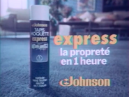 Johnson Tapis Moquette Express TVC 1980