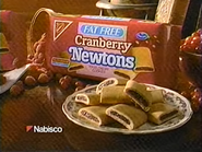 Nabsico Fat Free Cranberry Newtons TVC 1994