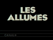 Canal Plus bumper - Les Allumes - 1992