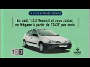 Renault Megane RL TVC 1997