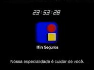 Sigma Ifin Seguros clock 1995 2