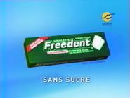 MV1 sponsorship billboard - Wrigley's Freedent - 2000