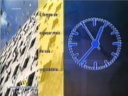 TN1 clock - Mundial Confianca (1999)