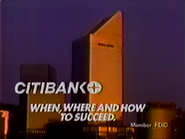 Citibank 1988 Commercial