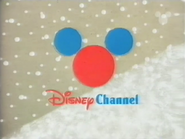 Disney Channel ID - Christmas Slope (1999)