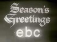 EBC Christmas 1957 ID