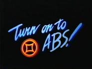 Turn on to ABS ID orange blue