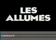 Canal Plus bumper - Les Allumes - 1984