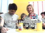 Pepsi Challenge AS TVC 1983