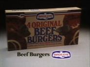 Birds Eye Beef Burgers AS TVC 1982