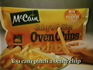 McCain Oven Chips AS TVC 1984