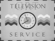 GRT TV clock 1946