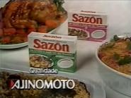 Ajinomoto Sazon PS TVC 1990